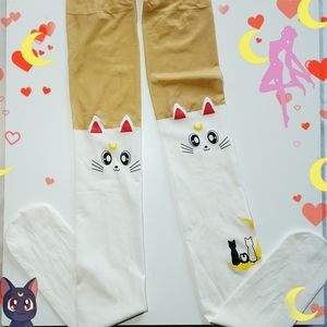 Free w/ purchase Sailor moon tights nwt